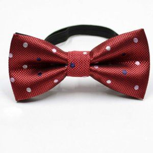 Boys Red polka dot bow tie
